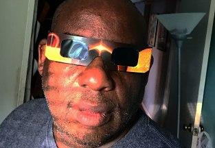 Solar Eclipse Selfport